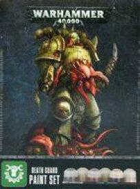 【エントリーでポイント10倍!(9月11日01:59まで!)】【新品】ミニチュアゲーム デスガード・ペイントセット 「ウォーハンマー40.000」 (Death Guard Paint Set) [60-27]