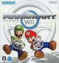 【中古】Wiiソフト ランクB)マリオカートWii(Wiiハンドル同梱)