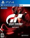 【新品】PS4ソフト グランツーリスモSPORT [通常版]