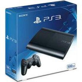 【中古】PS3ハード プレイステーション3本体 チャコール・ブラック(HDD 500GB)[CECH-4300C](状態:ワイヤレスコントローラー欠品)