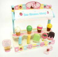 【ポイント20倍】【新品】おもちゃ 野いちご木のおままごと 香るアイスショップ 『駿河屋×マザーガーデン』