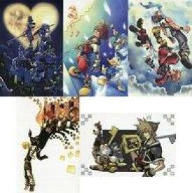 【中古】ポストカード(キャラクター) プレミアムポストカードセットA 「キングダムハーツ×SQUARE ENIX CAFE」