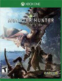 【エントリーでポイント10倍!(2月16日01:59まで!)】【中古】Xbox Oneソフト 北米版 MONSTER HUNTER WORLD(国内版本体動作可)