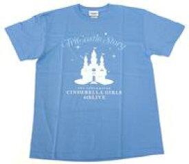 【中古】Tシャツ(キャラクター) アイドルマスター シンデレラガールズ 公式Tシャツ ブルー Mサイズ 「THE IDOLM@STER CINDERELLA GIRLS 4thLIVE TriCastle Story」