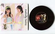 【中古】コースター(女性) melody twins レコード型コースター 「AKB48グループ ユニット じゃんけん大会2017〜絆は拳から生まれる!〜×神の手」【タイムセール】