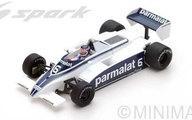 【中古】ミニカー 1/43 Brabham BT49 7th Argentinian GP 1980 Ricardo Zunino #6 [S4791]【タイムセール】