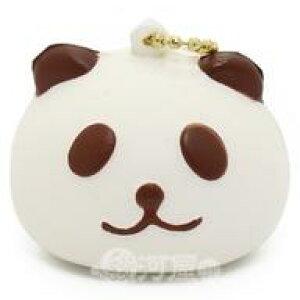 【新品】スクイーズ(食品系/おもちゃ) スクイーズ 柔らかキーホルダー パンダさんマン