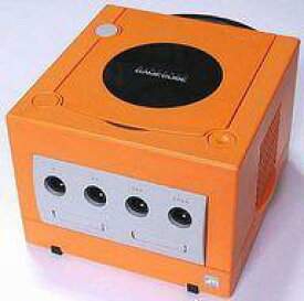 【中古】NGCハード 本体 ゲームキューブ本体(オレンジ)(状態:本体のみ、本体状態難)