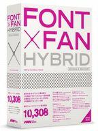 【中古】WindowsXP/Vista/7/MacOS9以降 DVDソフト FONT×FAN HYBRID