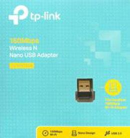 【エントリーでポイント10倍!(9月26日01:59まで!)】【中古】WindowsXP/Vista/7/8/8.1/10ハード ワイヤレスUSBアダプター [TL-WN725N]