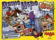 【中古】ボードゲーム [日本語訳無し] キャプテン・リノ:スーパーバトル (Rhino Hero:Super Battle)