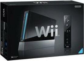 【中古】Wiiハード Wii本体[リモコンジャケット同梱版](クロ)(状態:箱(内箱含む)・本体状態難)
