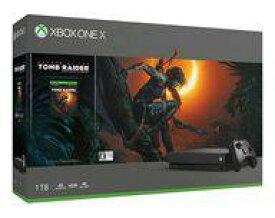 【中古】Xbox Oneハード XboxOne X本体 シャドウオブザトゥームレイダー同梱版