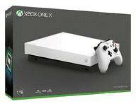 【15日24時間限定!エントリーでP最大26.5倍】【中古】Xbox Oneハード XboxOneX本体 ホワイトスペシャルエディション [FMP-00063]