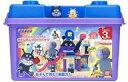 【新品】おもちゃ ブロックラボ バイキンじょうもつくれる!だだんだんブロックバケツ 「それいけ!アンパンマン」【タ…