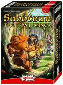 【中古】ボードゲーム [日本語訳無し] お邪魔者:失われた鉱山 (Saboteur: The Lost Mines)