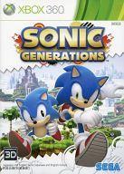 【中古】XBOX360ソフト アジア版 SONIC GENERATIONS (国内版本体動作可)