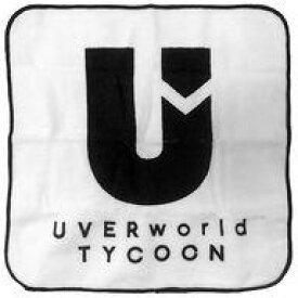 【中古】タオル・手ぬぐい(男性) UVERworld ミニタオル(ホワイト) 「UVERworld TYCOON TOUR」 がちゃがちゃ景品