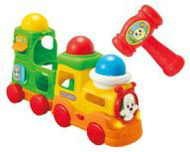 【中古】知育・幼児玩具 ボールをポン!ワンワンのおしゃべりトレイン 「いないいないばあっ! 」