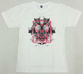 【中古】Tシャツ(男性アイドル) [破損品] UVERworld TシャツB ホワイト Mサイズ 「UVERworld TYCOON TOUR」