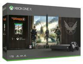 【エントリーでポイント10倍!(9月26日01:59まで!)】【新品】Xbox Oneハード XboxOneX本体 ディビジョン2同梱版 [CYV-00270]