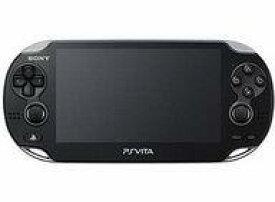 【中古】PSVITAハード PlayStation Vita本体<<3G/Wi-Fiモデル>>(クリスタル・ブラック)[数量限定版][PCH-1100 AB01](状態:本体のみ、本体状態難)