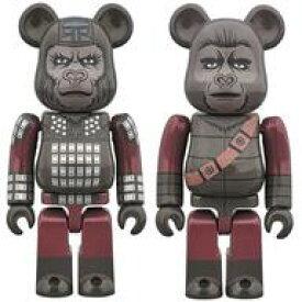 【中古】フィギュア BE@RBRICK-ベアブリック- GENERAL URSUS & SOLDIER APE 2PACK 「猿の惑星」