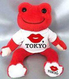 【中古】ぬいぐるみ ピクルス(レッド) ビーンドール 「KISS.TOKYO×pickles the frog-かえるのピクルス-」【タイムセール】