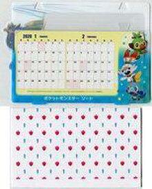【中古】カレンダー 2020年度オリジナルフォトフレームカレンダー(ザシアン柄) 「Switchソフト ポケットモンスターソード」 Joshin購入特典