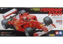 【中古】おもちゃ ラジコン 1/10 フェラーリ F2001 「電動RCフォーミュラ1レーシングカーシリーズ」 組み立てキット […