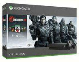 【15日24時間限定!エントリーでP最大26.5倍】【中古】Xbox Oneハード Xbox One X本体 (Gears 5 同梱版)
