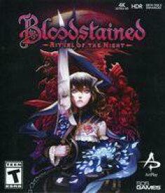 【中古】Xbox Oneソフト 北米版 Blood Stained:Ritual of the Night(国内版本体動作可)
