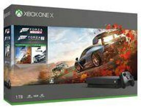 【中古】Xbox Oneハード XboxOne X本体 1TB(Forza Horizon 4/Forza Motorsport 7 同梱版)(状態:電源ケーブル欠品)