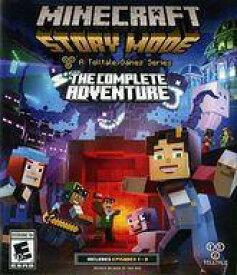 【中古】Xbox Oneソフト 北米版 MINECRAFT STORY MODE THE COMPLETE ADVENTURE (国内版本体動作可)