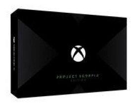 【中古】Xbox Oneハード Xbox One X本体 Project Scorpio エディション (HDD 1TB/FMP-00015)(状態:箱(※内箱含む)状態難)