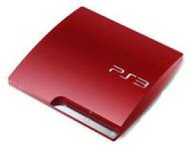 【中古】PS3ハード プレイステーション3本体 スカーレット・レッド(HDD 320GB/CECH-3000BSR)(状態:本体のみ、本体状態難)