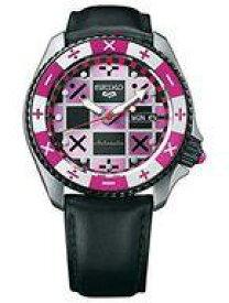 【中古】腕時計・懐中時計(キャラクター) トリッシュ・ウナ 腕時計 SBSA033 「ジョジョの奇妙な冒険 黄金の風×セイコー」