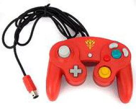 【中古】NGCソフト ゲームキューブコントローラ (シャア専用カラー)(状態:本体状態難)