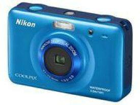 【中古】カメラ Nikon デジタルカメラ COOLPIX S30 1014万画素 (ブルー) [S30BL] (状態:本体のみ/本体状態難)