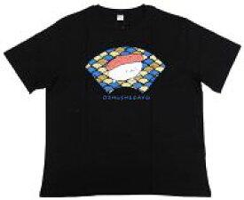 【中古】衣類 おしゅし(和柄) Tシャツ ブラック 3Lサイズ 「おしゅしだよ×しまむらsweaT's(スウェッターズ)」
