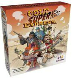 【新品】ボードゲーム コルト・スーパー・エクスプレス 日本語版 (Colt Super Express)