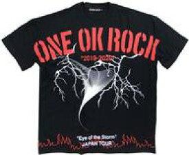 """【中古】Tシャツ(男性アイドル) ONE OK ROCK ビッグTシャツ ブラック Lサイズ 「ONE OK ROCK 2019-2020 """"Eye of the Storm"""" JAPAN TOUR」"""