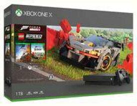 【エントリーでポイント10倍!(9月26日01:59まで!)】【中古】Xbox Oneハード XboxOne X本体 1TB (Forza Horizon 4/Forza Horizon 4 LEGO Speed Champions 同梱版)