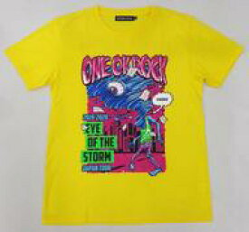 "【中古】Tシャツ(男性アイドル) ONE OK ROCK Tシャツ-D イエロー XLサイズ 「ONE OK ROCK 2019-2020 ""Eye of the Storm"" JAPAN TOUR」"