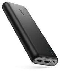 【中古】携帯電話アクセサリー ANKER モバイルバッテリー PowerCore 20100 20100mAh (ブラック) [A1271012]