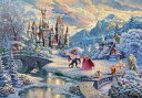 【予約】パズル Beauty and the Beast's Winter Enchantment 「美女と野獣」 ジグソーパズル 1000ピース [D1000-072]