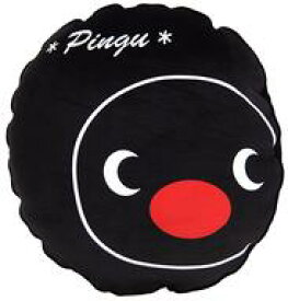 【中古】クッション・抱き枕・本体 ピングー(ブラック) フェイスクッション 「ピングー」