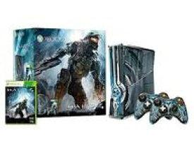 【中古】XBOX360ハード Xbox360本体 320GB Halo4 リミテッド エディション(状態:ヘッドセット欠品、本体、コントローラ状態難)
