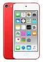 【中古】ポータブルオーディオ iPod touch 128GB (PRODUCT)RED 第6世代[MKWW2J/A] (状態:内箱欠品)
