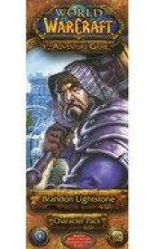 【中古】ボードゲーム [日本語訳無し] World of Warcraft: The Adventure Game ? Brandon Lightstone Character Pack